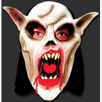 Máscara Diabo Capeta Susto - Terror Carnaval E Halloween