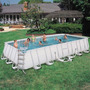 Piscina Estrutural Retangular Luxo 26.845l Completa Bestway