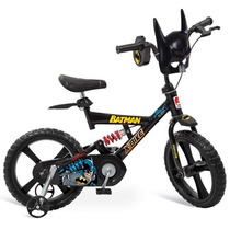 Bicicleta Infantil X-bike Aro 14 Batman Bandeirante