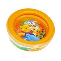Piscina Inflável P/ Crianças - Ursinho Pooh Disney 60x14 Cm