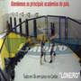 Promoção Lona Branca Tatame 15x1,57m Ringue Mma Academia