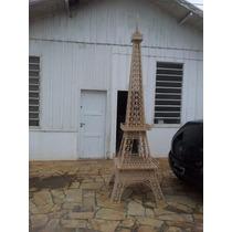 Torre Eiffel Mdf 9mm 3,45m - 3d Para Montar