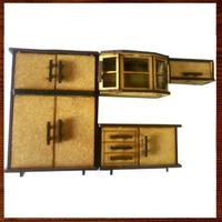 Miniaturas Decorativas Em Mdf Mini Móveis- Cozinha Completa.