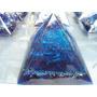 Pirâmides Orgonites Ref. Ao Mod.p102 Base:8,5cm X Alt.6,5cm
