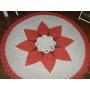 Cris-artesanato Tapete De Flor Em Croche 1,5 M