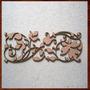 Arabescos Mdf,arvores,flores,folhas,galhos Artesanato 25 Cm