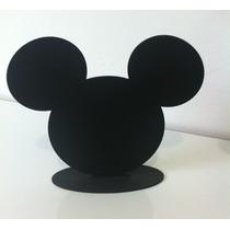 Display De Mesa Para Festa Infantil Silhueta Mickey