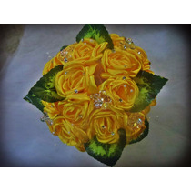 Buque De Noiva, Bouquet Pedras E Tecidos