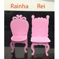 Mini Cadeira Em Acrilico, Miniatura Moveis Ou Cadeirinha
