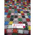 Colcha De Casal Em Croche Square Colorida Frete Grátis