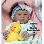 Boneca Bebê Reborn Isabela Ou Murilo Igual A Bebe De Verdade