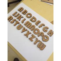 78 Letras Com 3 Cm Altura Mdf Fonte Bauhaus 93 3 Alfabeto