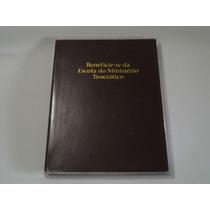 Capa Livro Beneficie-se Da Escola Do Ministério Teocrático