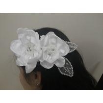 Arranjo De Flores ,penteado De Noivas-festas