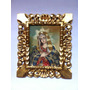 Quadro Cusquenho Madonna Pintura Óleo Sobre Tela 25 X 30 Cm