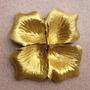 1000 Pétalas De Rosas Importadas Artificial Na Cor Dourado