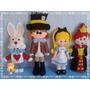 Alice No País Das Maravilhas Em Feltro Decoração Festa Linda