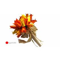 Origami - Buquê De Tulipa