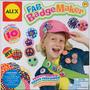 Distintivo Maker - Alex Toys Fab Kit Tecido Circles E