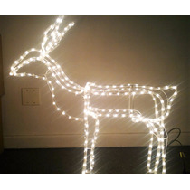 Rena Iluminada Led Fixa 110 Enfeite Natal Decoração Natalino