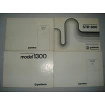 Manual Original Gradiente Model 1300-166-126-86-str800-es-10