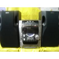 Micro System Sony Mhc-dx9 - 6.000 W - 3 Cd S - Baixei Preço.