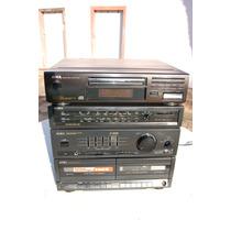Microsystem Aiwa Vintage R$ 50 De Desconto + Frete Gratis