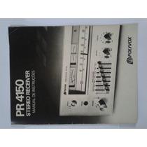 Manual Original Receiver Polyvox Pr4150