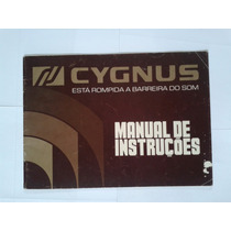 Manual Original Equalizador Cygnus Ge 1800