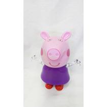 Caixa De Som Peppa Pig Decoração Mp3 Infantil Divertido