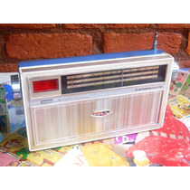 Rádio Antigo Mitsubishi - 3 Faixas - 12 Transistor - Japonês