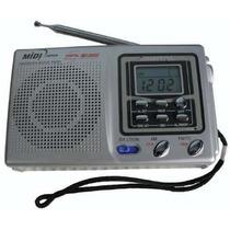 Novo Midi Md9900 Radio Digital 7 Bandas Excelente Sintonia