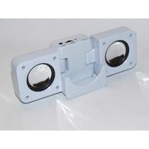 Mini Caixa Acústica Amplificada Dobrável Para Ipod¿mp3¿ Mp4