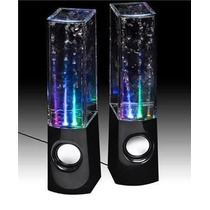 Caixa De Som Ultra Led Agua Stereo Surround 6w Ipod Iphone