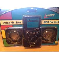 Mini Caixa De Som Portátil Para Mp3, Mp4 , Ipods , Celulares