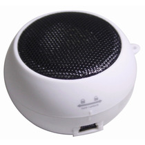 Mini Caixa De Som Toca Mp3 Conecta Via P2 Em Psp Mp4 Celular