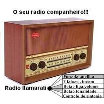 Rádio Antigo Companheiro Itamarati Faixas Fm Om Oc Retro.