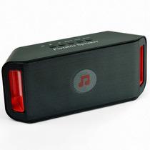 Caixa De Som Bluetooth 10w Rms - Fm, Usb, Sd E Auxiliar