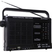 Radio Motobras 3 Faixas Usb Leitor Sd