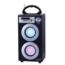 Caixa De Som Torre Bluetooth- Bateria/ Usb/ Sd-card/ 30w Rms