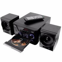 Mini System Dvd Player Multilaser - 30w Rms - Karaokê (novo)