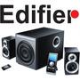 Caixas De Som Edifier Com Subwoofer Para Tv , Receiver & Dvd