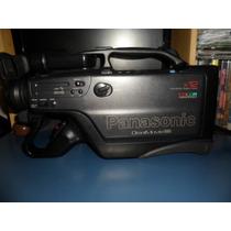 Filmadora Vhs Panasonic 12 X Fusiona O Visor Ta Escuro