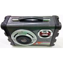 Caixa De Som Mp3 Karaoke Guitarra Microfone Ecopower Ep-2190