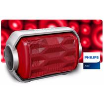 Falante Resistente A Prova Dagua Bluetooth Philips Caixa Som