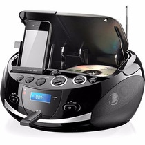 Rádio Cd Player Mp3 Boombox Dock Station Multilaser Sp157