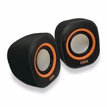Caixa De Som Speaker Round Oex Sk-100- Usb- P2- Adicional 6w
