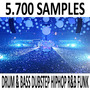 5.700+ Samples Drum & Bass Dubstep R&b Hip Hop Funk Pack28