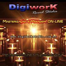 Masterização E Mixagem - Analógica E Digital Profissional