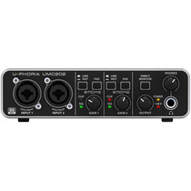 Umc202 Interface De Audio Usb Behringer U-phoria Pré Midas